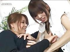 Cuties kissing in japanese schoolgirl video tubes