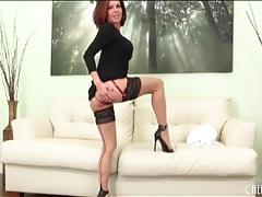 Leggy veronica avluv striptease and lingerie tubes