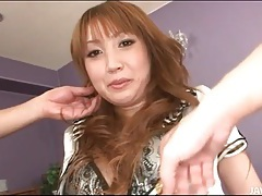 Firm round tits look hot on japanese girl tubes