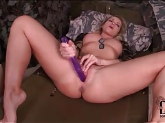 Purple dildo anally fucks kathia nobili tubes