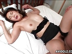 Cock fucks moaning japanese girl passionately tubes