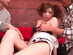 Teen likes how they fondle her body tubes
