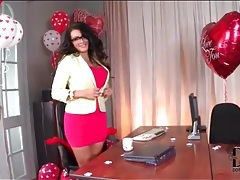 Office slut charley atwell striptease tubes