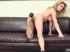 Courtney shea looks wicked sexy in high heels tubes