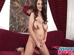 Yurizan beltran fondles her big sexy tits tubes