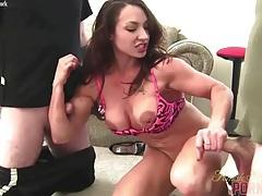 Brandimae - dirty talk and two cocks tubes