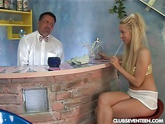 Angelic teen terry gets nailed tubes