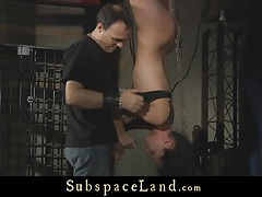 Cute slave learns how to be submissive tubes