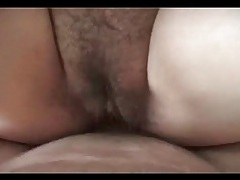Chubby asian on her back for missionary sex tubes