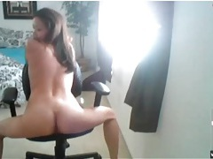 Webcam girl with sexy little tits and tight ass tubes