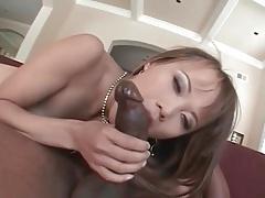 Leggy asian laid by a big black cock tubes