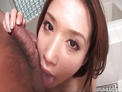 Beautiful boobs on this japanese cocksucker tubes