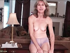 Solo mature olive jones striptease porn video tubes