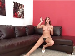 Rilynn rae looks leggy in sexy high heels tubes