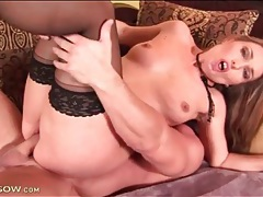 Hardcore pounding of her wet milf cunt tubes