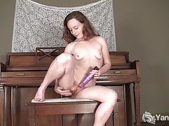 Lusty ana fuck dildo for orgasm tubes