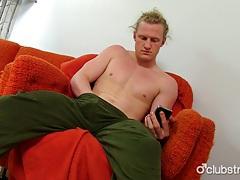 Hot long haired straight shane masturbating tubes