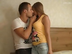 Perky teen tits sucked on by horny guy tubes