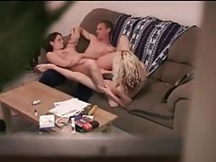 Hidden camera video of naughty threesome porn tubes