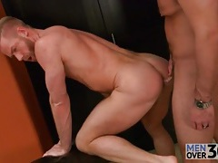 Cocksucking and rimming is hot in gay fuck video tubes