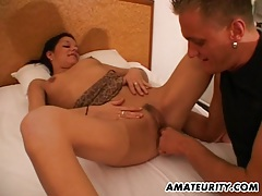Amateur girlfriend sucks and fucks in a hotel room tubes