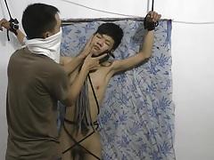 Slim asian slave boy spanking tubes