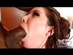 Aleksa nicole blows black cock and gets fucked tubes
