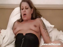 Mind blowing fisting orgasms for the wifes twat tubes
