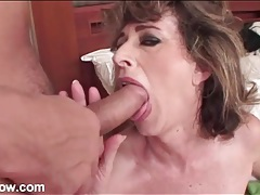 Mature gobbles shaft and has doggystyle sex tubes