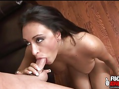 Claudia valentine throat fucking with a facial tubes