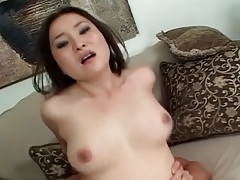Rock hard boner fucks asian cunt doggystyle tubes
