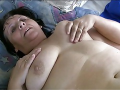Fat blonde has lesbian sex with her lover tubes
