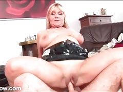 Big mature tits bounce in doggystyle fuck video tubes