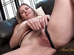 Solo striptease with milf miss melrose tubes