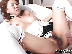 Doggystyle fucking with naughty french maid tubes