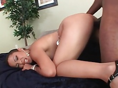Asian beauty bends over for a doggystyle fuck tubes