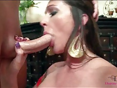 Sexy slut destiny dixon blowjob and facial porn tubes