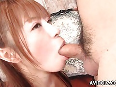Japanese blowjob and sexy ball kissing tubes
