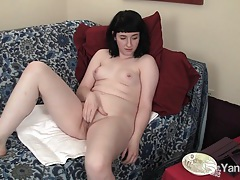 Horny amateur lola fingering her pussy tubes