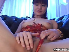 Close up masturbation of japanese pussy tubes