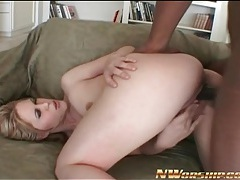 Black cock nails blonde girl in doggystyle porn tubes