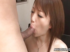 Cock slides into cunt of young japanese beauty tubes