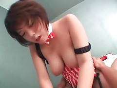 Curvy japanese girl with big tits loves to fuck tubes