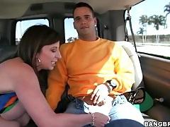 Milf sara jay gives sexy blowjob in a car tubes