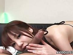 Pov cocksucking with japanese girl makes him cum tubes
