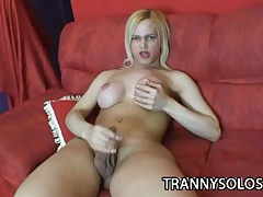 Bianca laele: busty tranny wants to jerk alone tubes