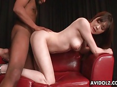 Black cock sucked and fucking young japanese slut tubes