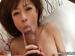 Pov doggystyle and cock ride with japanese cutie tubes