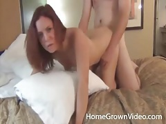 Missionary and doggystyle fucking with naughty redhead tubes