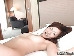 Japanese cocksucker gets on top in 69 tubes